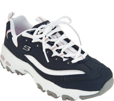 Skechers D'Lites Lace-up Sneakers - Looking Glass