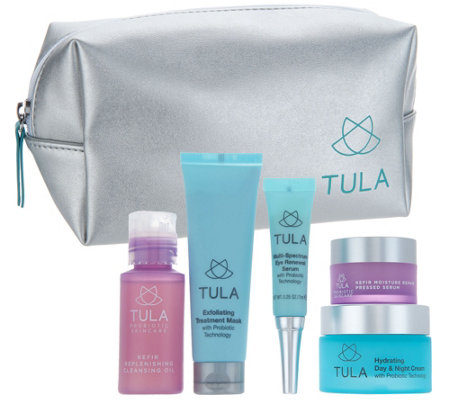 TULA by Dr. Raj 5-Piece Probiotic Skin Care Discovery Kit