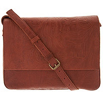 American Leather Co. Glove Leather Messenger Crossbody - A310255