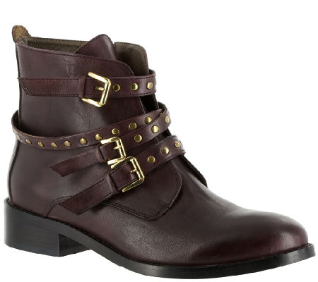 Bella Vita Leather Ankle Boots - Mod-Italy