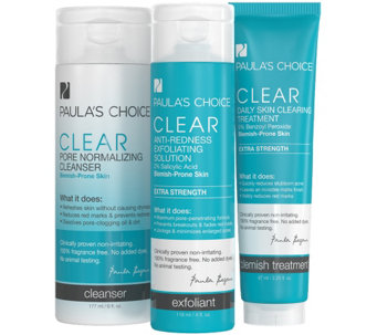 Paula's Choice Acne System Trio, Extra Strength - A338555