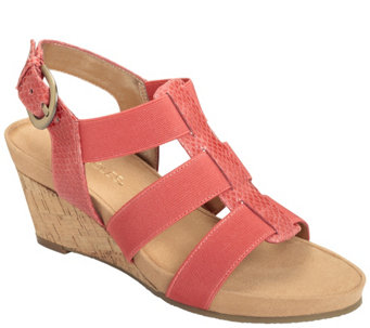 Aerosoles Wedge Sandals - Lightscape - A339755