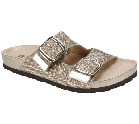 White Mountain Slide Sandals - Horizon