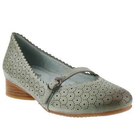 Spring Step Leather Mary Janes - Gittel