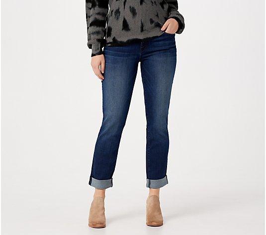 Kut from the kloth size 24W denim blue stretch jeans