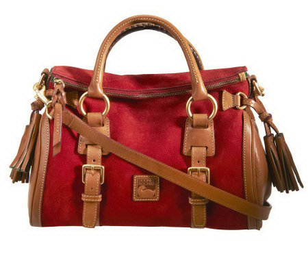 Dooney & Bourke Nubuck Leather Small Jones Satchel