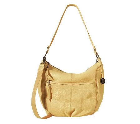 The Sak Iris Leather Large Hobo Bag - Page 1 — QVC.com