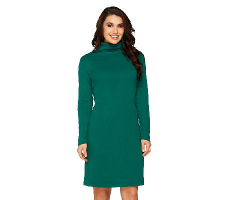 Liz Claiborne New York Petite Essentials Long Sleeve Dress