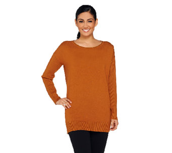 Linea by Louis Dell'Olio Whisper Knit Oversized Sweater - A257356
