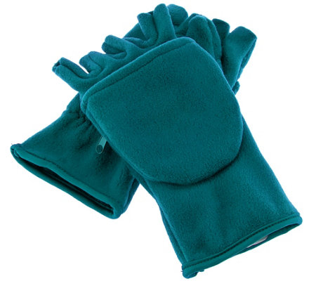 Stretch Fleece Multi-Mitt with Cell Phone Pocket by Sprigs