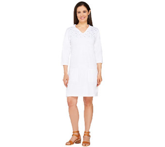 Quacker Factory Hooded Beach Cover-Up - A263556