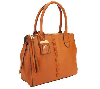 """As Is"" Aimee Kestenberg Pebble Leather Tote - A267356"