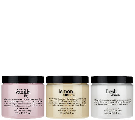 philosophy super-size body souffle trio of favorites