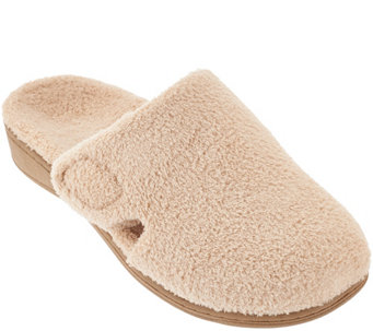 Vionic Orthotic Soft Terry Slippers - Gemma - A272056