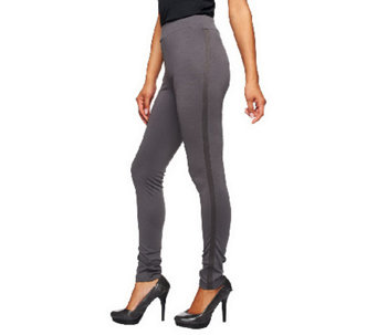 """As Is""Jennifer Hudson Collection Slim Leg Tuxedo Pants - A273956"