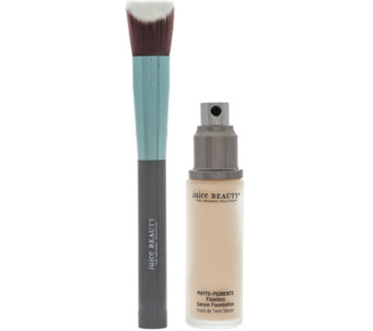 Juice Beauty Serum Foundation with Angle Brush - A279556