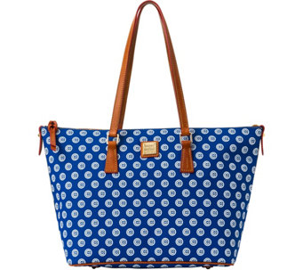 Dooney & Bourke MLB Cubs Zip Top Shopper - A280056