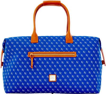 Dooney & Bourke MLB Royals Duffel Bag