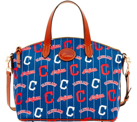 Dooney & Bourke MLB Nylon Indians Small Satchel