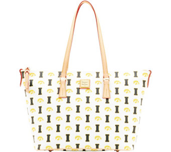 Dooney & Bourke NCAA University of Iowa Zip Top Shopper - A283256