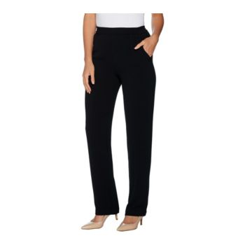 Linea by Louis Dell'Olio Petite Crepe Gauze Pull On Pants