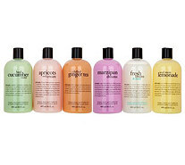 philosophy refreshing 6-piece shower gel collection - A298956