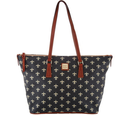Dooney & Bourke NFL Saints Shopper