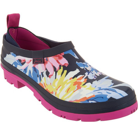 Joules Slip On Welly Clogs - Pop On's
