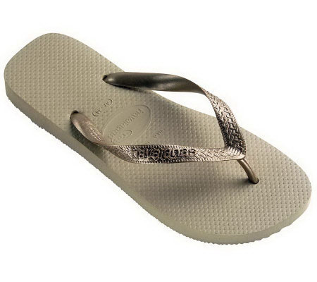 Havaianas Women's Top Metallic Flip-Flops