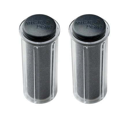 Emjoi Micro-Pedi Super-Coarse Refill Rollers -Set of Two