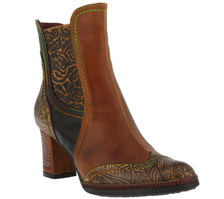 Spring Step L'Artiste Leather Boots -  Santana