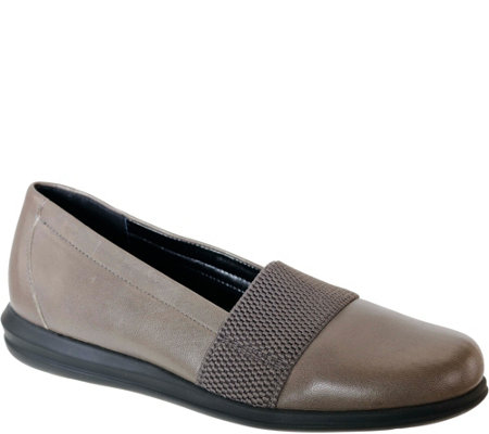 David Tate Causal Leather Slip-ons - Hugo
