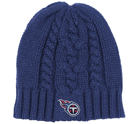 NFL Tennessee Titans Women's Cuffless Knit Hat