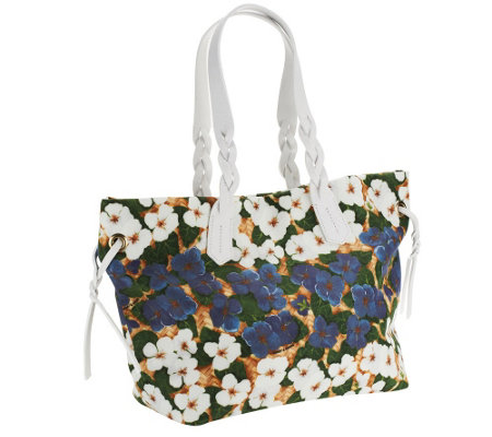 """As Is"" Dooney & Bourke Pansy Nylon Shopper"