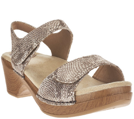 Dansko Sandals with Adjustable Strap - Sonnet