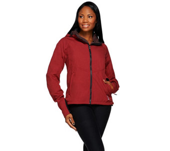 Loki 4-in-1 Women's Mountain Hoodie w/Built In Gloves - A269457