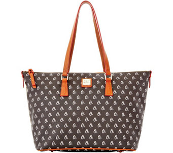 Dooney & Bourke MLB Orioles Zip Top Shopper - A280057