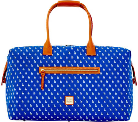 Dooney & Bourke MLB Dodgers Duffel Bag