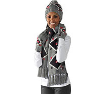 NFL Touch by Alyssa Milano Hat, Scarf and Glove Set - A281357