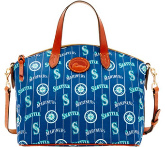 Dooney & Bourke MLB Nylon Mariners Small Satchel - A281757