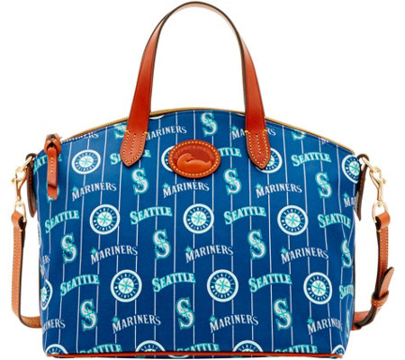 Dooney & Bourke MLB Nylon Mariners Small Satchel