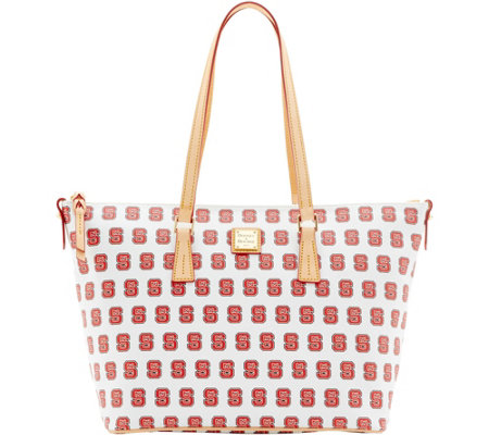 Dooney & Bourke NCAA NC State University Zip Top Shopper