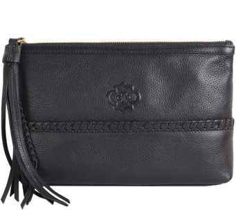 """As Is"" orYANY Pebble Leather Pouch- Alea - A291557"