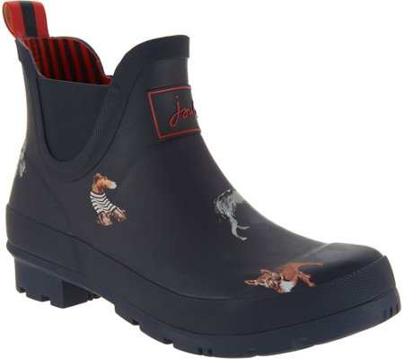 Joules Pull On Rain Boots - Wellibob
