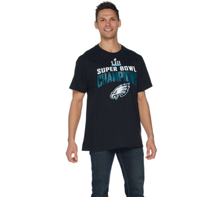 NFL Super Bowl LII Eagles Men's Team Schedule T-Shirt
