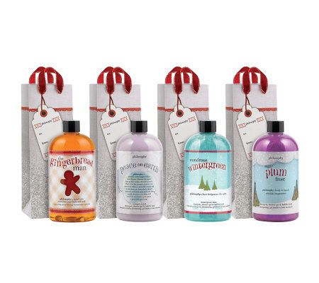 philosophy holiday shower gel gift set - Page 1 — QVC.com