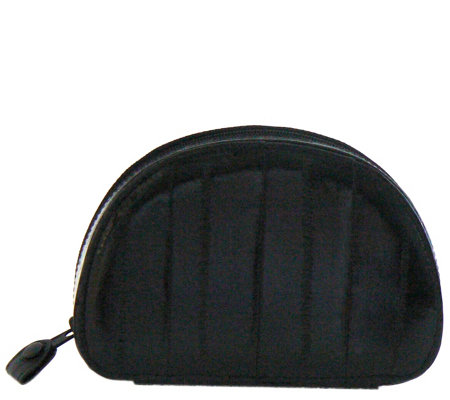Lee Sands Black Eelskin Jewelry Case