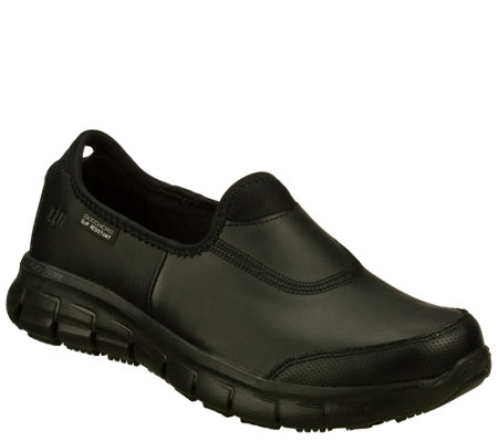 Skechers Work Slip-ons - Sure Track