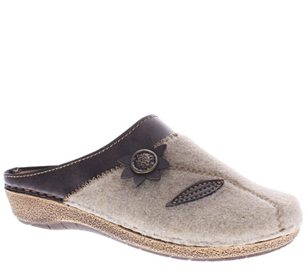 Flexus by Spring Step Indoor/Outdoor Textile Clogs - Aries
