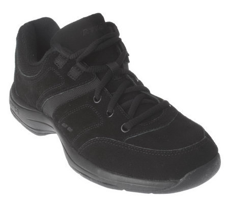 ryka suede lace up athletic shoes page 1 qvc